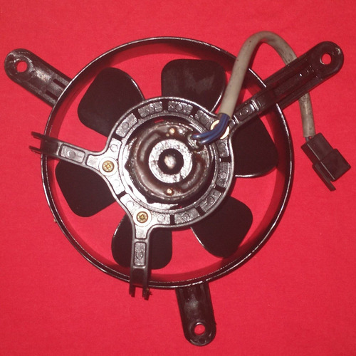 Ventoinha Do Radiador Da Moto Dafra Cyticom 300 I/s Origina