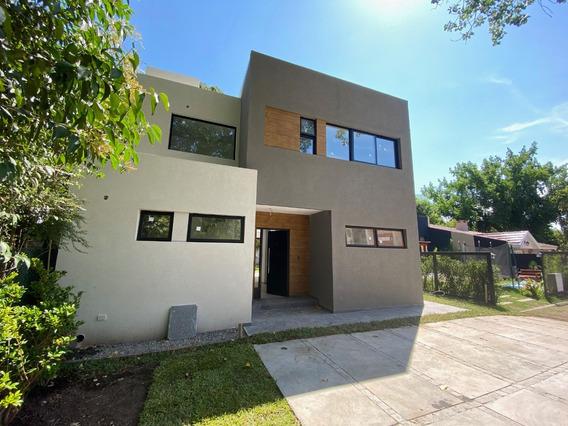 Casa 4 Ambientes A Estrenar Barrio Cerrado Leloir Udaondo