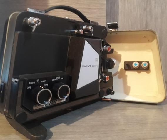 Projetor Raynox Du707 A 8mm Antigo