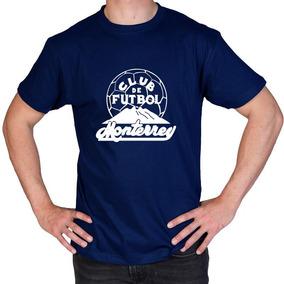 Camiseta Estampada Rayados Monterrey Retro 1