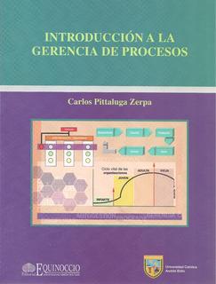 Introducción A La Gerencia De Procesos / Carlos Pittaluga