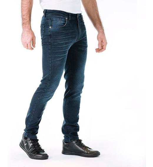 Jean Slim Fit Elastizado Moda Hombre Mistral 15105