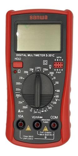 Multimetro / Multitester Digital S-301c Sanwa Japon