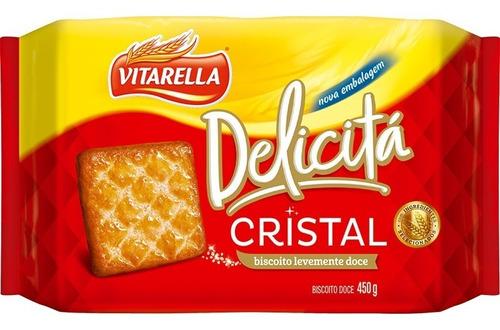 Vitarella Biscoito Doce Delicitá Cristal