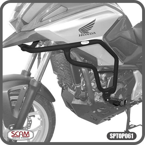 Scam Sptop061 Protetor Motor Carenagem Nc700x Nc750x 2013+