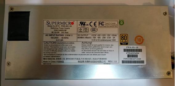 Fonte Servidor Supermicro 1u Pws3511h