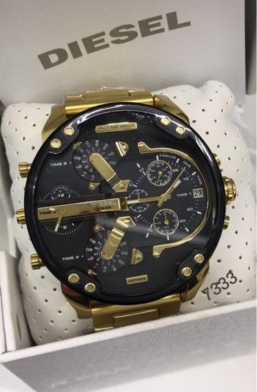 Relógio Diesel Dz7333 Mr. Daddy 100% Original Com Caixa Novo