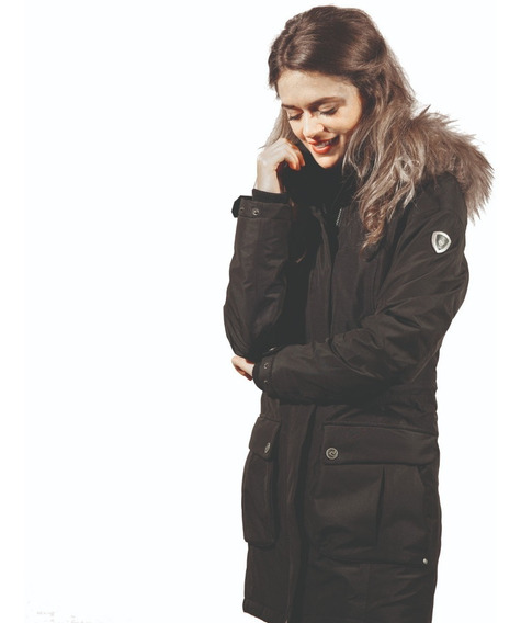 Campera Parka Mujer Northland Leny Frio Nieve Impermeable