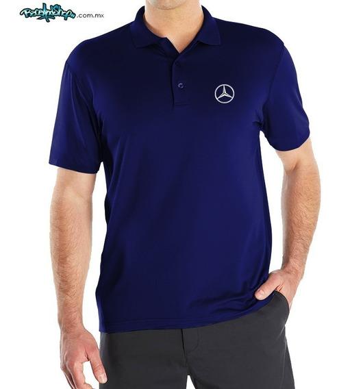 Playera Premium Tipo Polo Dryfit Envio Gratis! Mercedes-benz