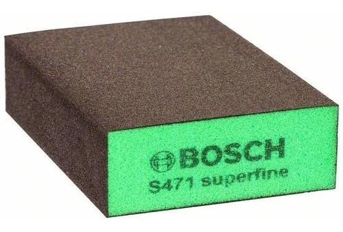 Imagen 1 de 1 de Esponja Abrasiva Lija Taco Bosch S471 Super Fino Ionlux