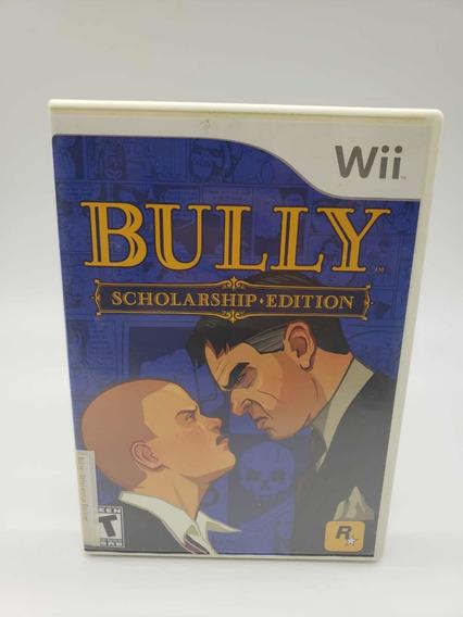 Bully Nintendo Wii Original Completo