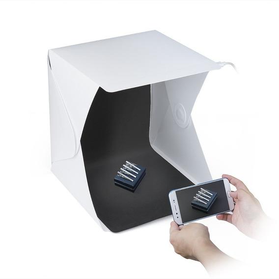 Estudio Mini Fotográfico Profesional Caja Luz Para Productos