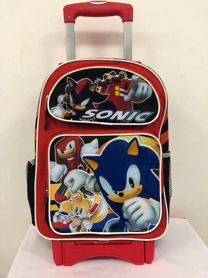 Sonic Mochila Primaria Y Envio $1990.00