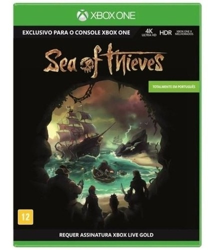 Sea Of The Thieves Xbox One Kit 10 Jogos Midia Fisica Novo