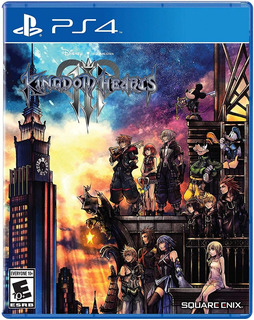 Kingdom Hearts 3 Ps4 - Sellado - Físico - Nuevo - Nextgames