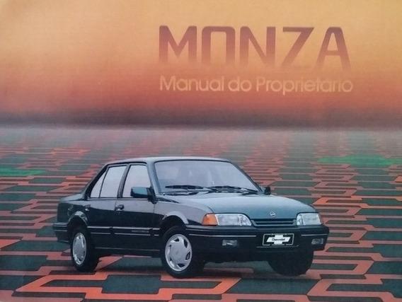 Manual Do Monza 1991 1992 Original Gm Clássica Se Sle