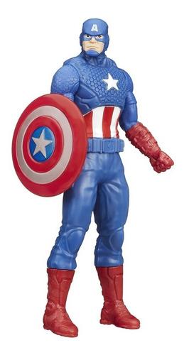 Imagem 1 de 3 de Boneco Avengers Capitão América 15 Cm - Original Hasbro