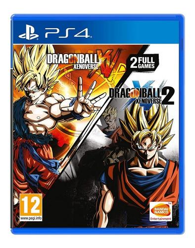 Imagem 1 de 5 de Dragon Ball Xenoverse + Dragon Ball Xenoverse 2 - Ps4