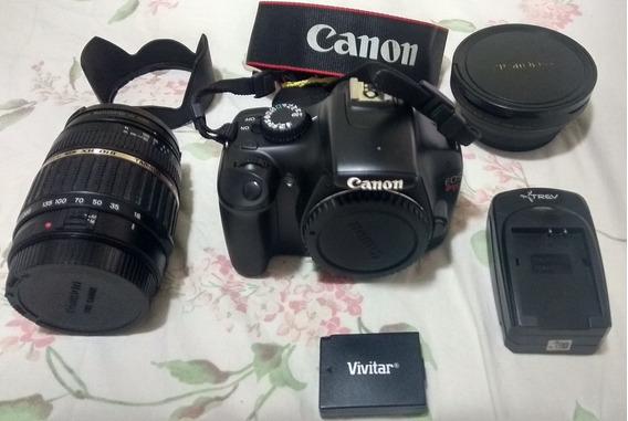 Camera Canon T3+lentes