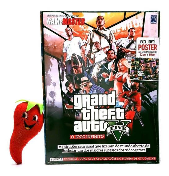 Revista Superpôster - Grand Theft Auto O Jogo Infinito Gta V