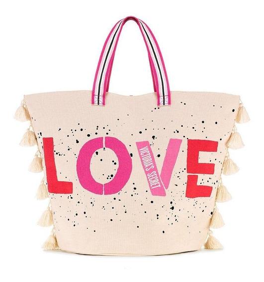 Bolso Victoria Secret Graphic Love Tote