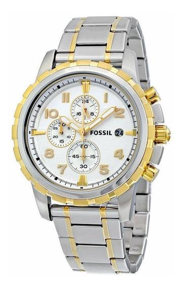 Relógio Fossil Fs4795 Stainless Masculino Original Promoção