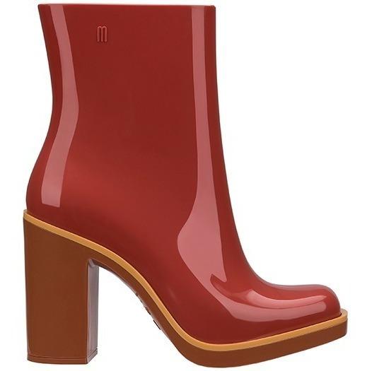 Melissa Classic Boot 35 Marrom Telha Bota Original Nova