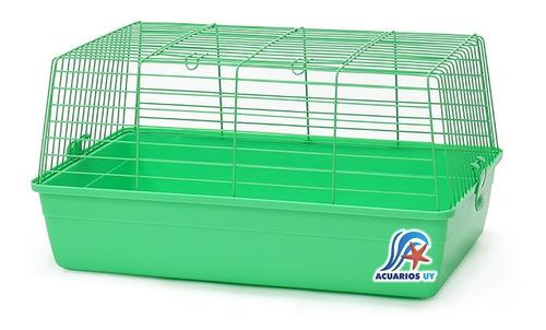 Jaula Simple Grande Para Conejos Cuis Cobayos. Dayang R3