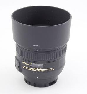 Nikon 50 1.4 G Af-s Impecable !!!!