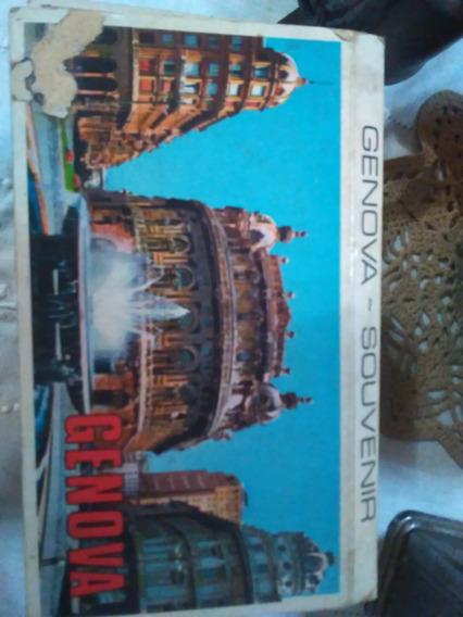 10 Postales Antiguas De Genova