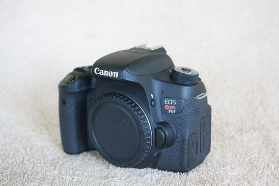 Camera Canon T6s + Lente 50mm Stm E 18-135mm + Acessórios