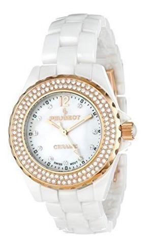 Relojes De Pulsera, Ps4892wr De Peugeot Mujeres Suiza De..