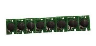 8 Chips Full One Time Para Plotter Epson 7800 - 9800