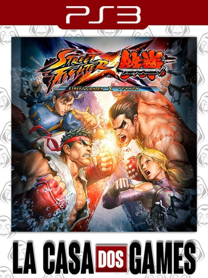 Street Fighter X Tekken - Psn Ps3 - Envio Imediato