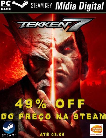 Pc - Tekken 7 - Steam Key Game Mídia Digital