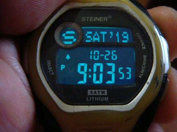 Reloj Steiner Digital Con Luz