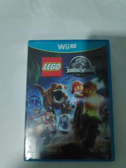 Lego Jurassic World Wii U Original Midia Fisica