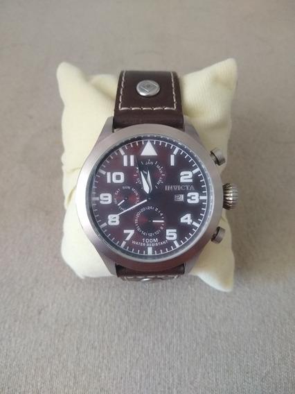 Relógio Invicta Couro