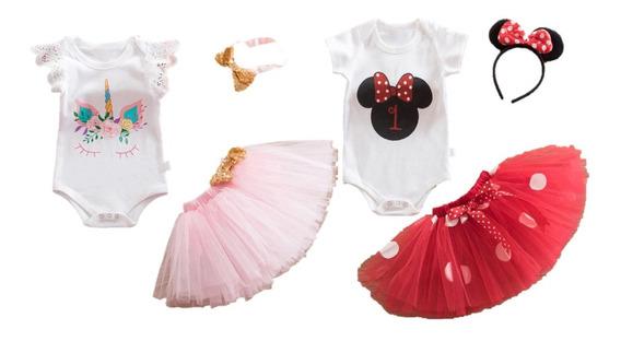 Vestido De Princesa Niña Bebé Tutu 1 Año Cumpleaños
