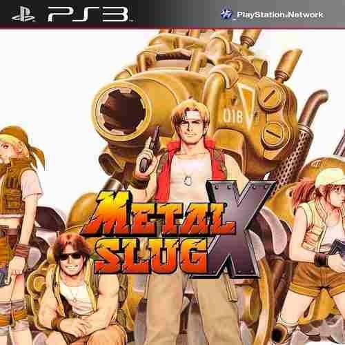 Metal Slug X - Ps1 Classic- Jogos Ps3 Playstation 3