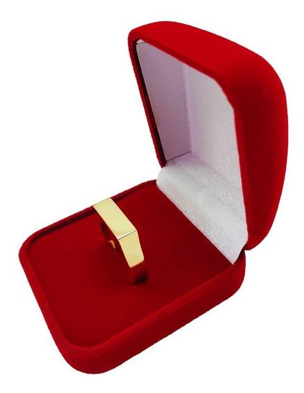 Anel Chapinha 5 Gramas Em Ouro 18kl 750