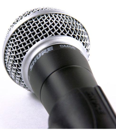 Microfone Shure Sm 58 - Original Made In México - Certificado & Garantia