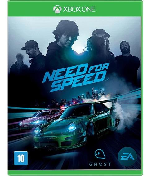 Need For Speed Xbox One Mídia Física Nacional Lacrado Rj