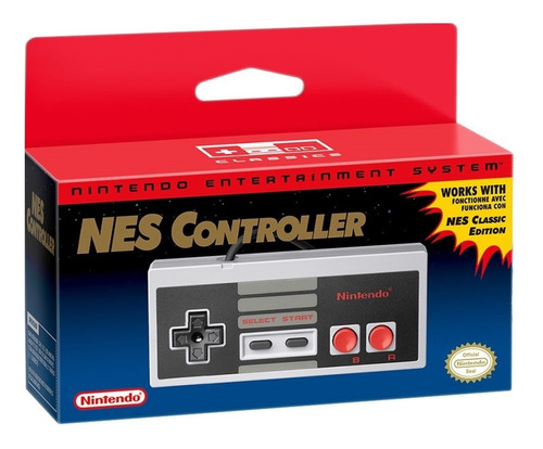Nintendo Nes Classic Edition Mini Controller Controlador