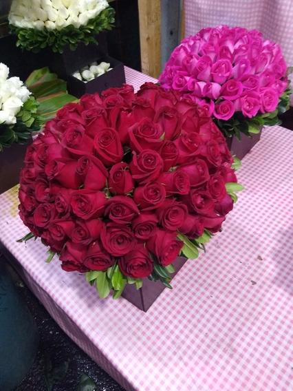Arreglo Floral Rosas Y Follajes Entregamos En Monterrey Nl