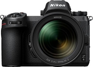 Cámara Mirrorless Nikon Z6 Con Nikkor Z 24-70mm Lente Negro