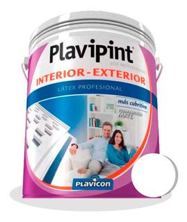 Latex Plavipint Interior Exterior 20 Lts. Plavicon - Iacono