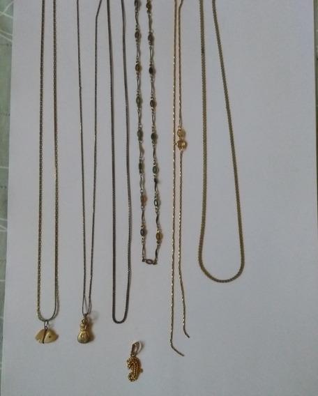 Lote Correntes/colares/gargantilhas- No Estado-ver Descrição