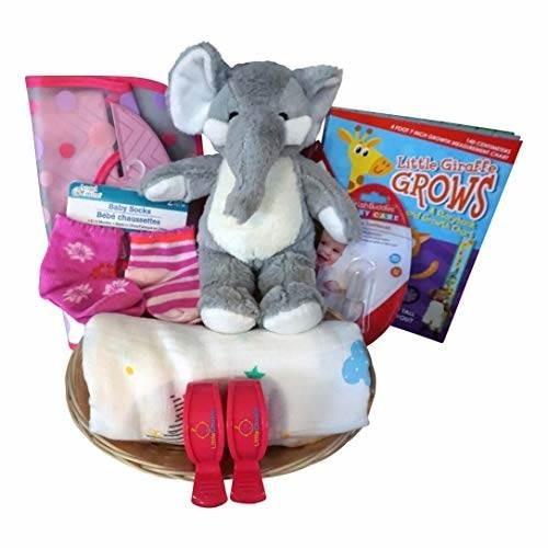 Cestas De Regalo Para Bebes.Cesta De Regalo Para Bebe De Elefante Para Bebe Nino O Nina