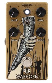 Walrus Audio Warhorn Pedal De Overdrive Para Guitarra